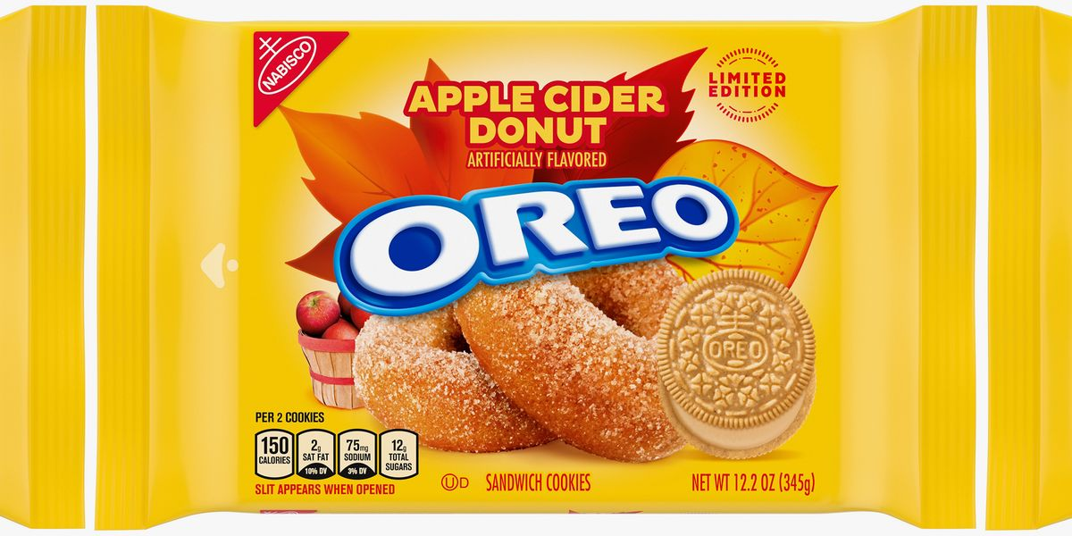 Oreo Is Releasing Apple Cider Donut Cookies To Fast-Forward Us To Fall