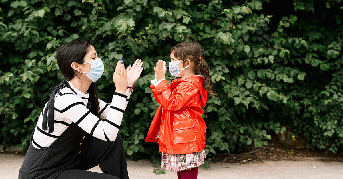 From Toddlers to Teens: How to Talk to Kids About Wearing Masks