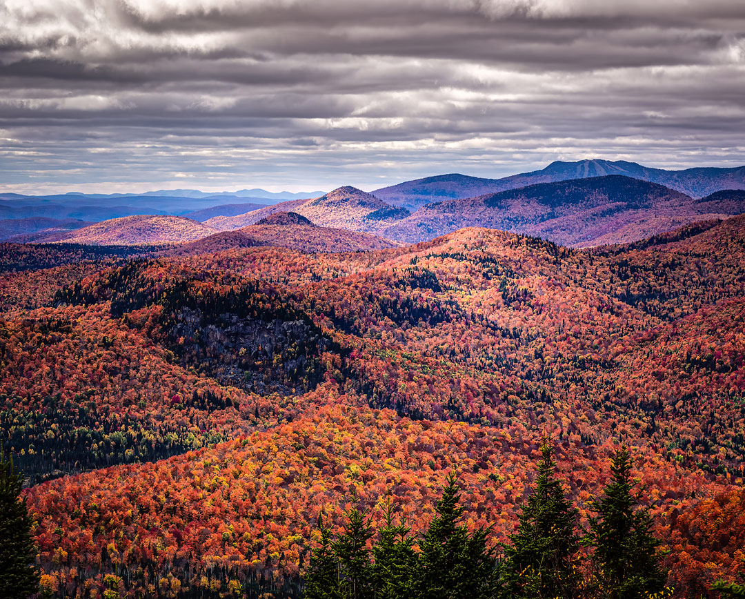 Mont Kaaikop, Laurentian Mountain, Quebec, Canada by Jacques Geoffroy