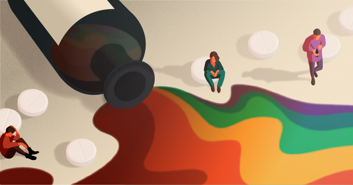 Why the Risk of Substance Use Disorders Is Higher for LGBTQ People