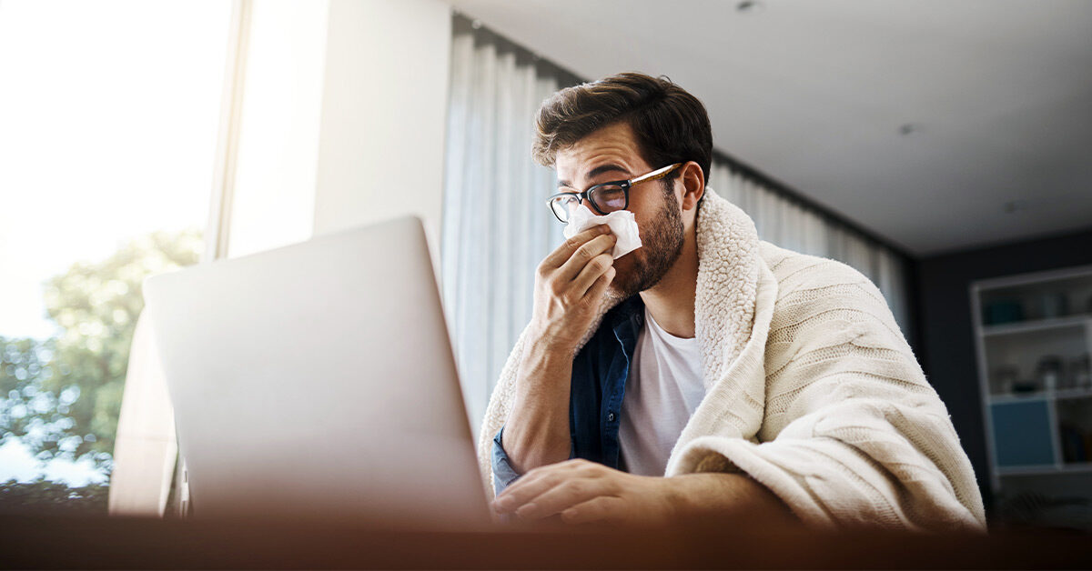 Why Calling in Sick While Working from Home Can Be Stressful