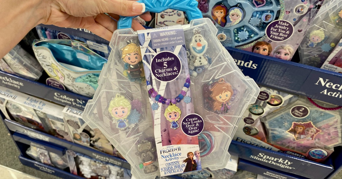 Disney Frozen 2 Necklace Activity Set Only $5.99 on Amazon (Regularly $13)