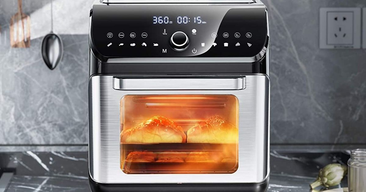 Air Fryer Oven w/ Rotisserie, Dehydrator & More Only $90 Shipped on Amazon