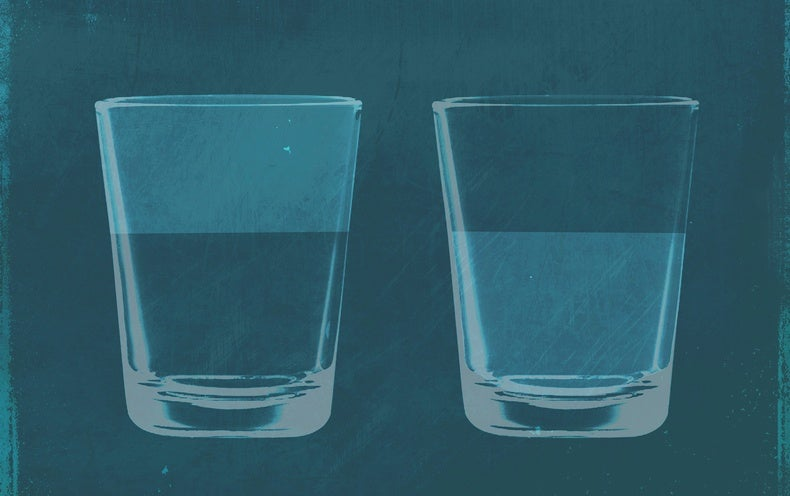The Empty Half of the Glass May Also Be Full