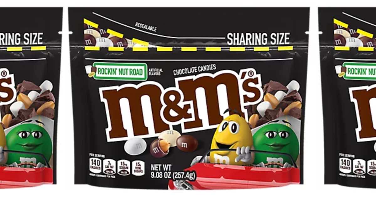 M&M's Rockin' Nut Road Is the Ice Cream Flavor That Won't Melt In Your Hand