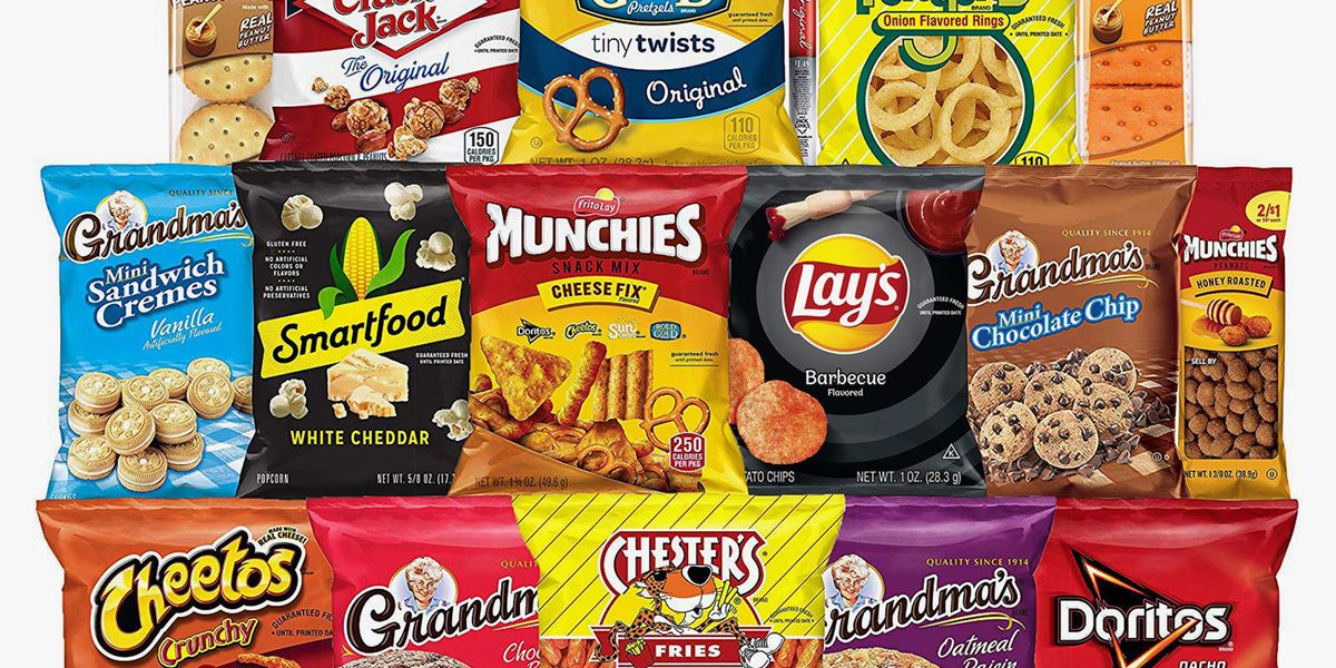 Frito-Lay's Best-Selling Ultimate Snack Box Is 30% Off On Amazon For All Your Chip And Cookie Needs