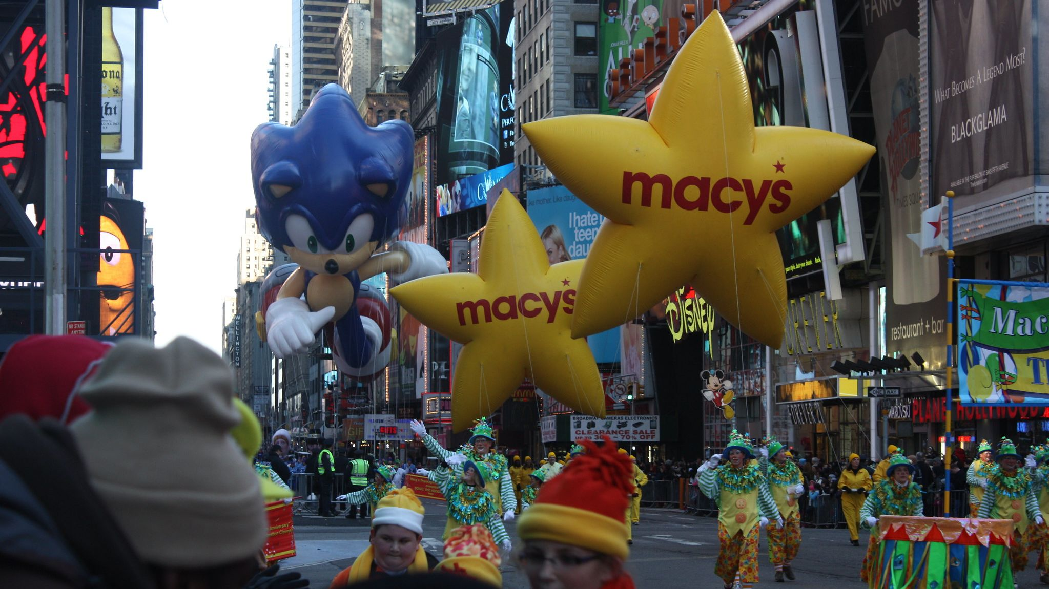 Macy's Thanksgiving Day Parade Balloon Accidents