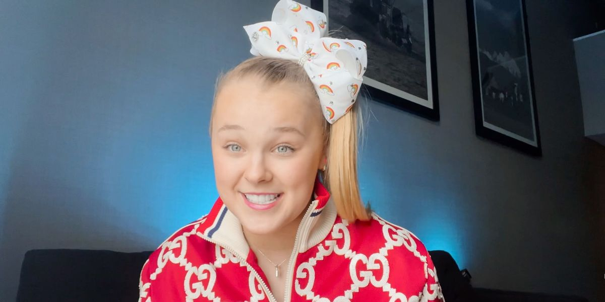 JoJo Siwa Says She Wants Kissing Scene Removed From New Movie 'Bounce'