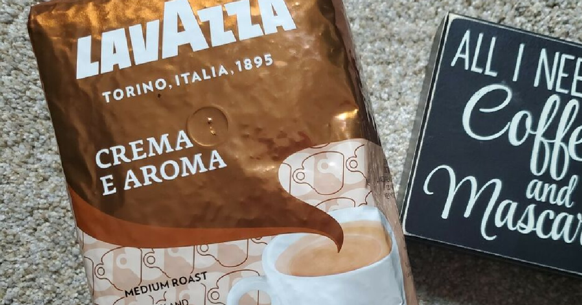 Lavazza Whole Bean Coffee 2.2lb Bags Only $12.59 Shipped on Amazon (Regularly $21)