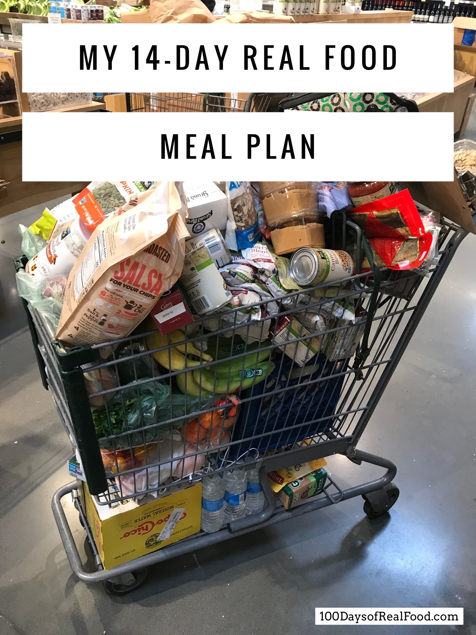 My 14-Day Meal Plan (only shop once!)