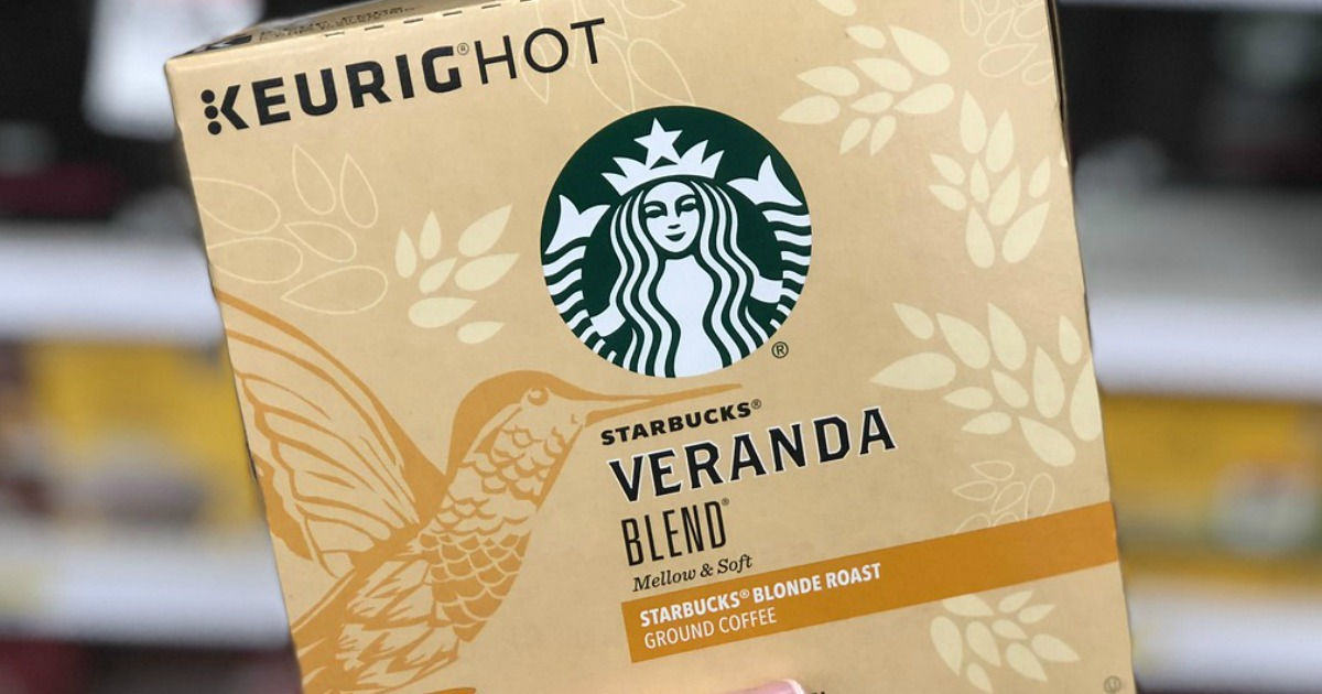 100 Starbucks K-Cups Only $34.99 Shipped for Prime Members