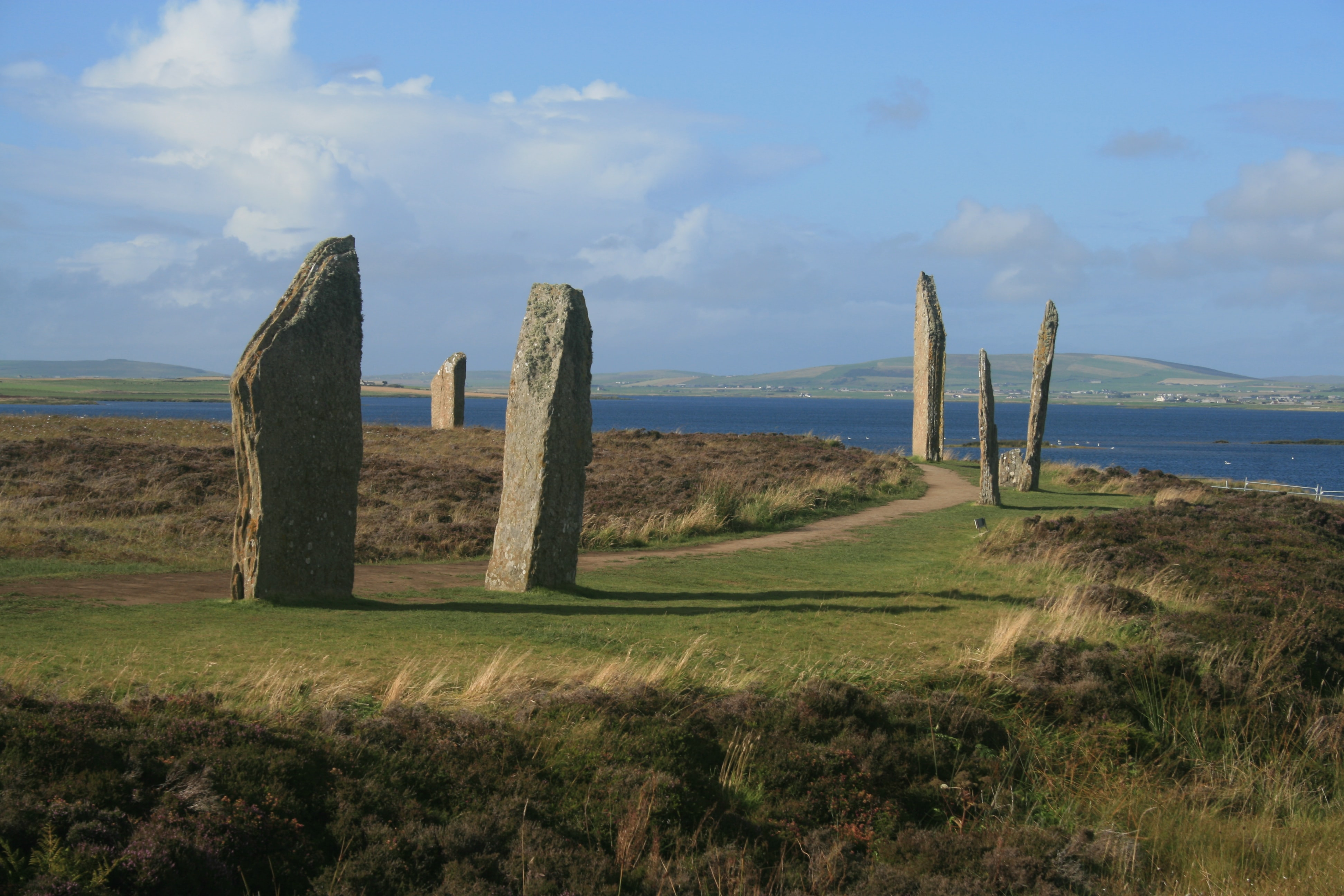 Sea Stacks, Evocative Tombs, and American Flags on Orkney
