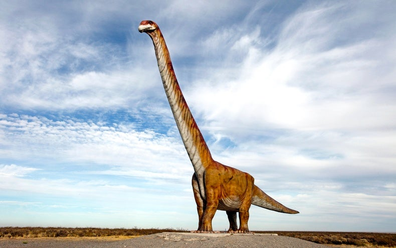 Why the World's Biggest Dinosaurs Keep Getting Cut Down to Size