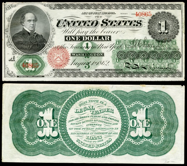 Why is U.S. Paper Money Green?