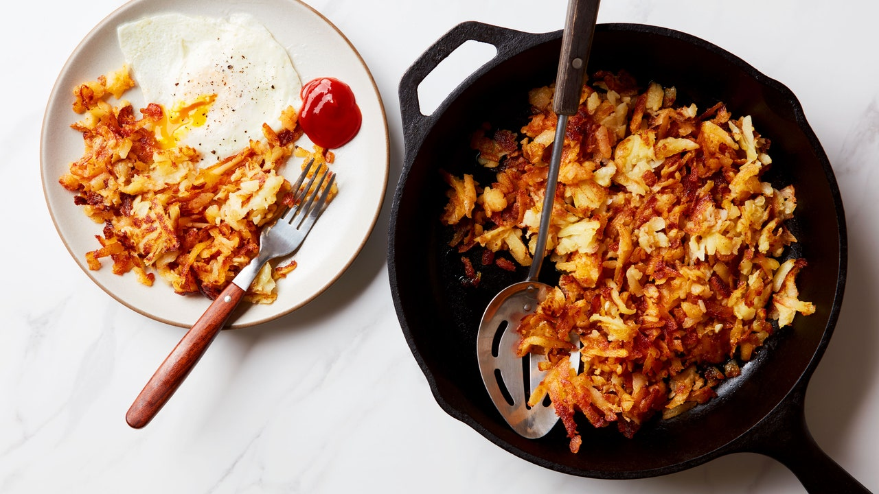 The Secret to the Crispiest (and Easiest) Hash Browns Is Boiling Potatoes in Advance