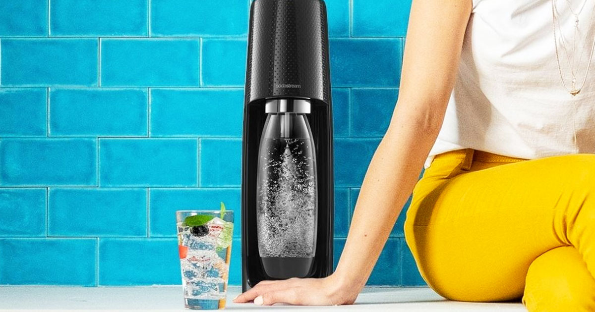 SodaStream Fizzi Sparkling Water Maker Kit Only $47.49 Shipped for Amazon Prime Members