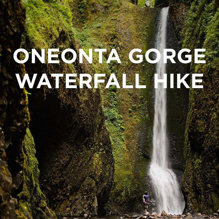 The Oneonta Gorge Hike to Lower Oneonta Falls