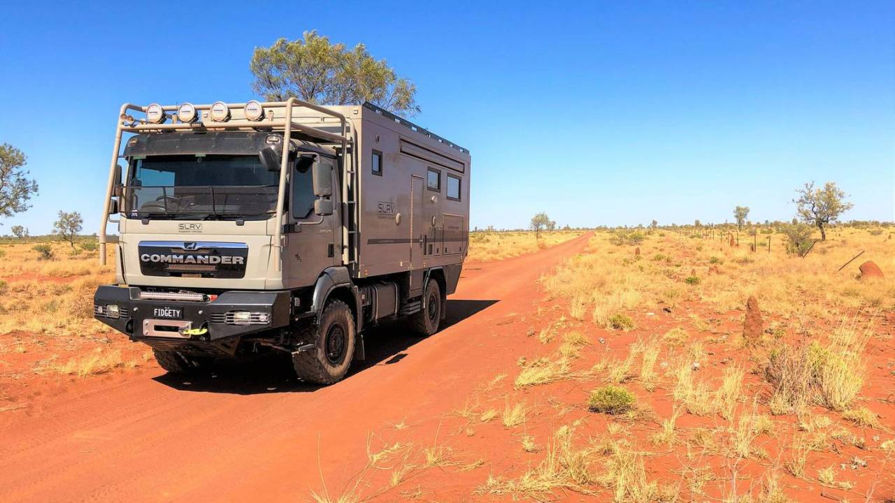 'Apocalypse-grade' motorhome built for off-grid Aussie family opting out of 2020