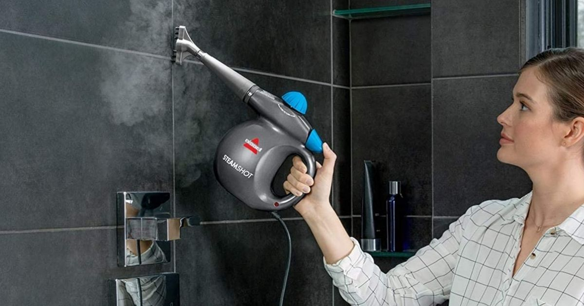 Bissell Steam Shot Cleaner Only $19.99 on Amazon