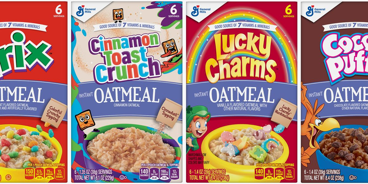 Your Favorite Cereals, Like Cinnamon Toast Crunch, Now Come in Oatmeal Form