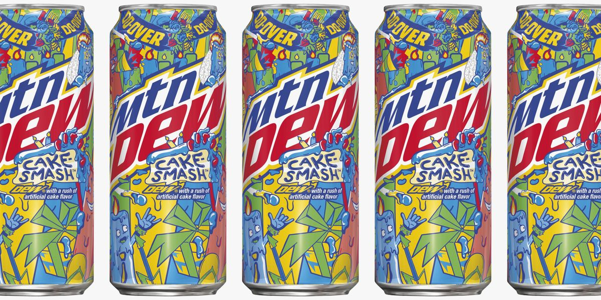 Mountain Dew Is Releasing a Cake Smash Flavor