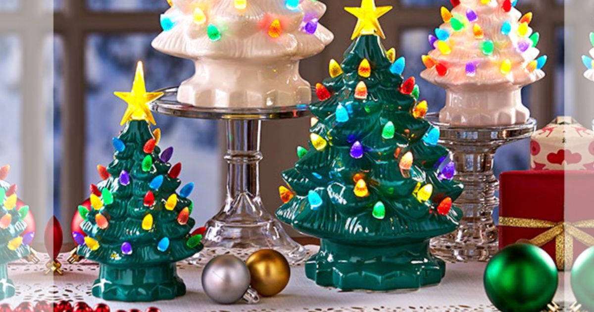 Save on Ceramic Trees, Lighted Campers, Gifts, & More
