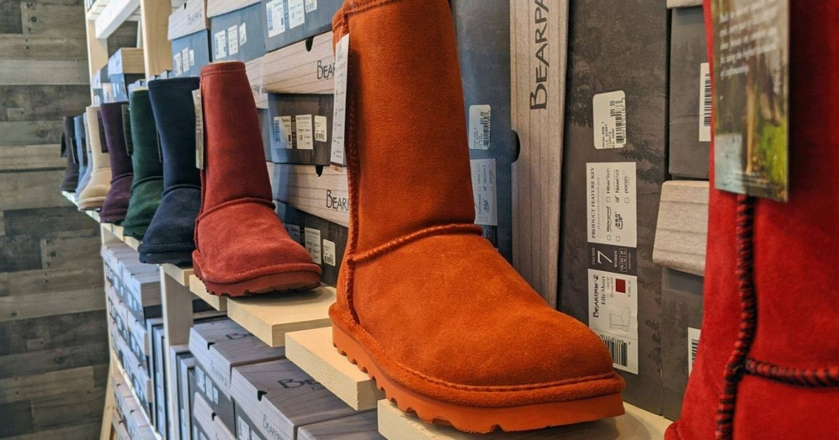 BEARPAW Women's Suede Boots Only $29.99 on Zulily.com (Regularly $80)