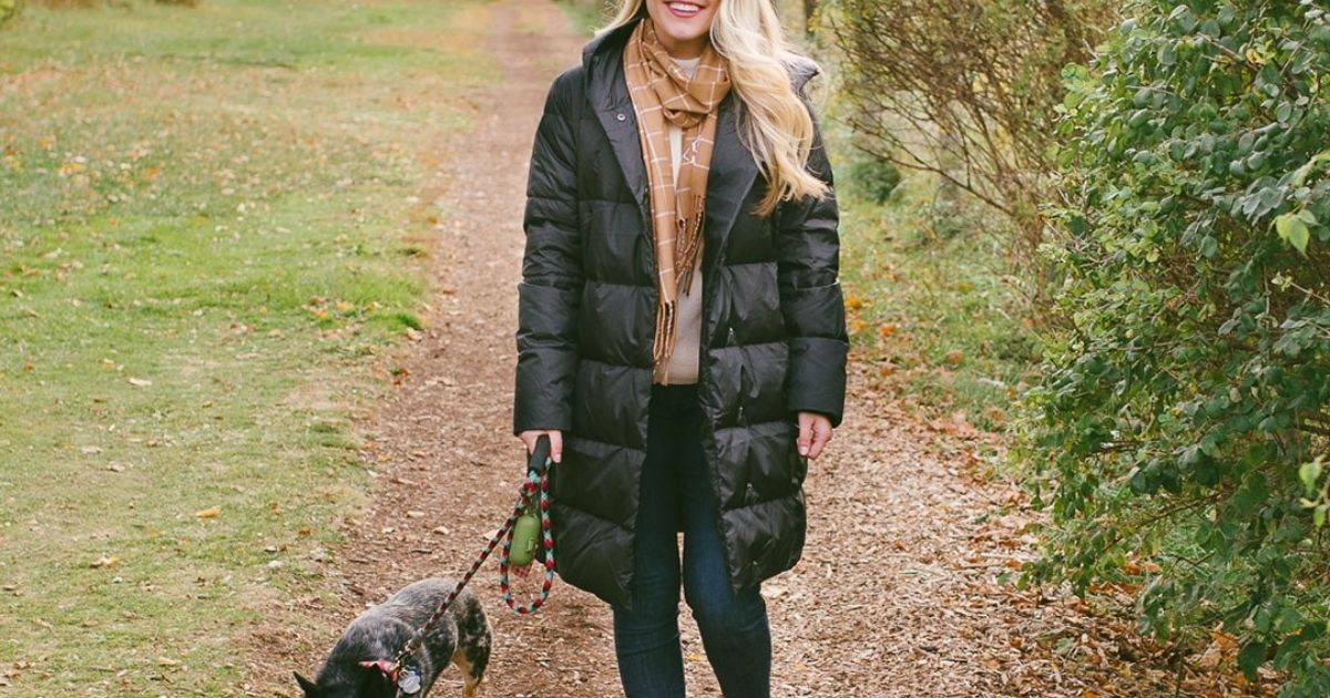 Get OVER $100 Off This Lands' End Women's Insulated Winter Puffer Parka (& More Deals!)