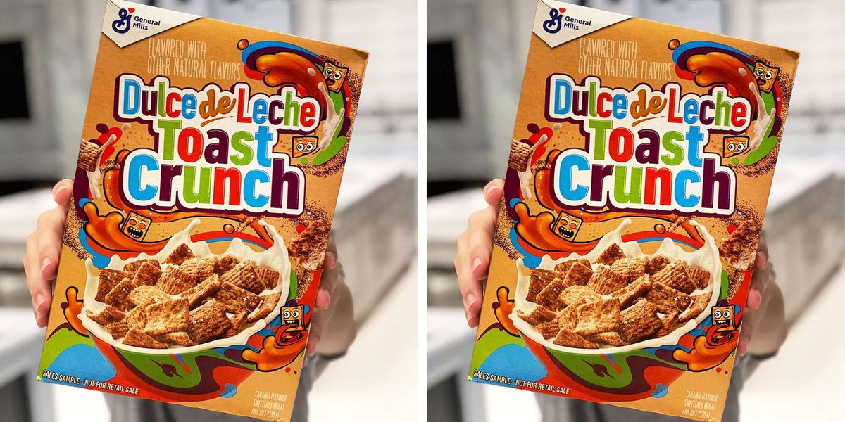General Mills Is Reportedly Launching Dulce de Leche Toast Crunch Cereal