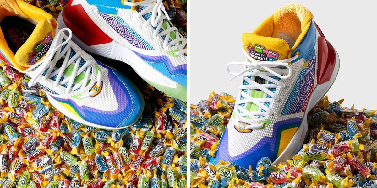 New Balance Has Partnered With Kawhi Leonard To Create New Jolly Rancher Sneakers
