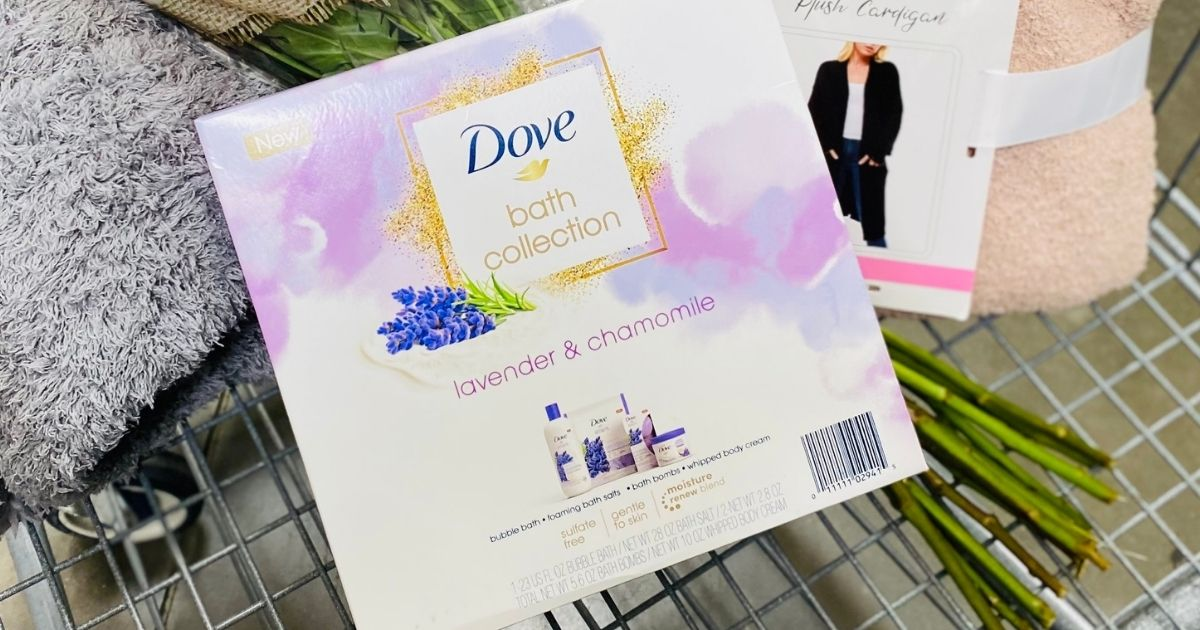Includes 4 Lavender & Chamomile Bath Products - Hip2Save