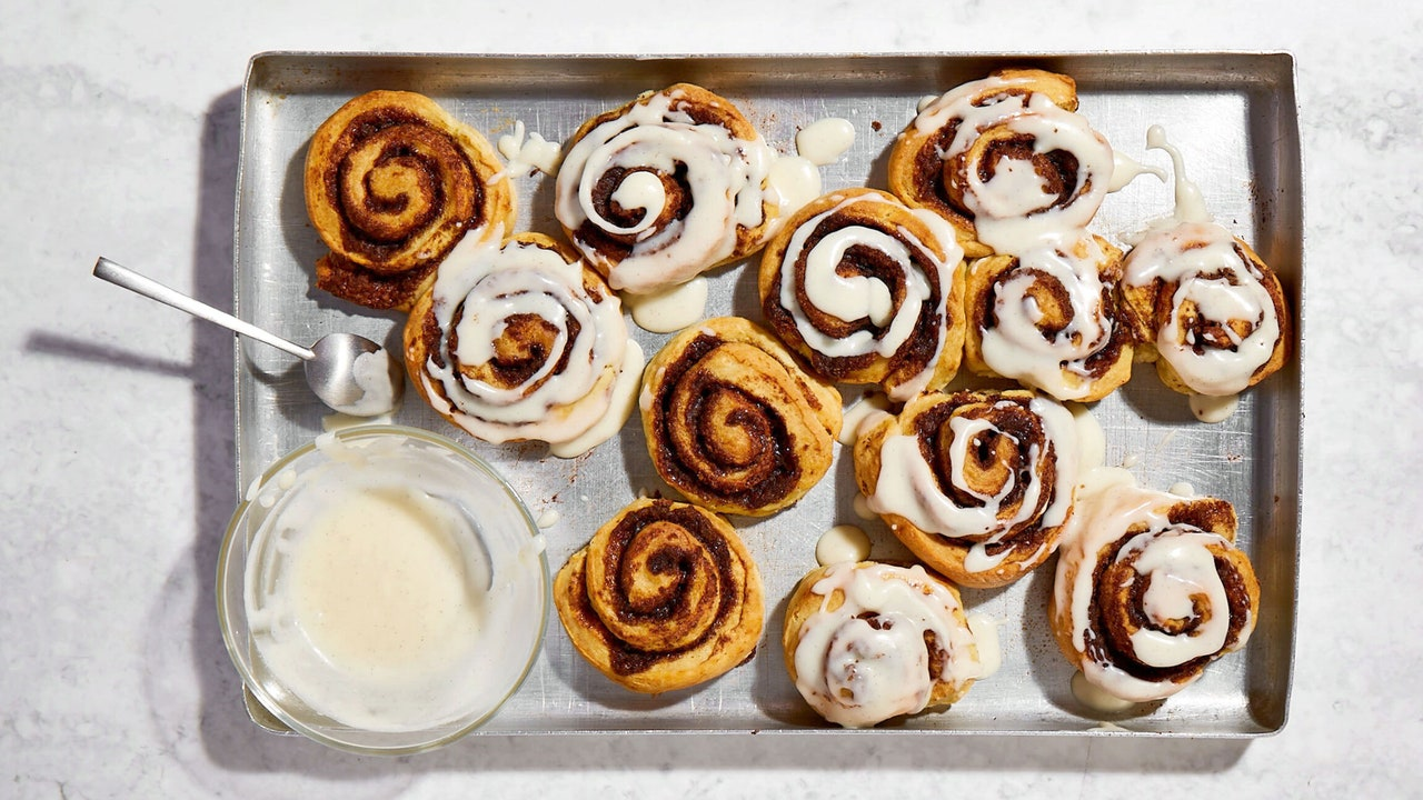 You Don't Need Yeast to Make Delicious Cinnamon Rolls