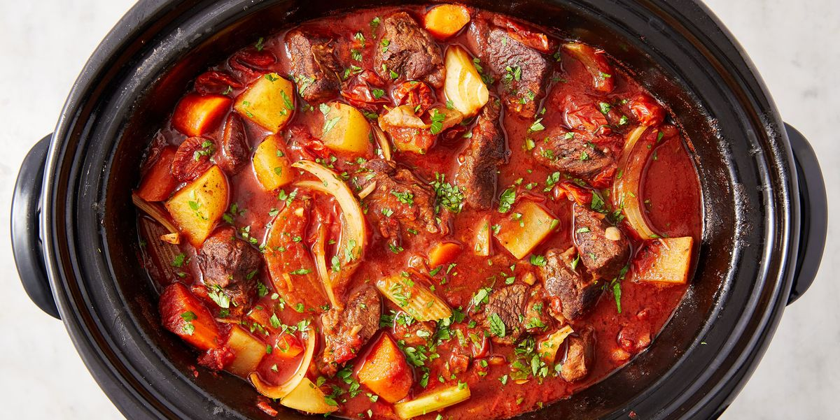 How To Make Easy Crock Pot Beef Stew With Red Wine