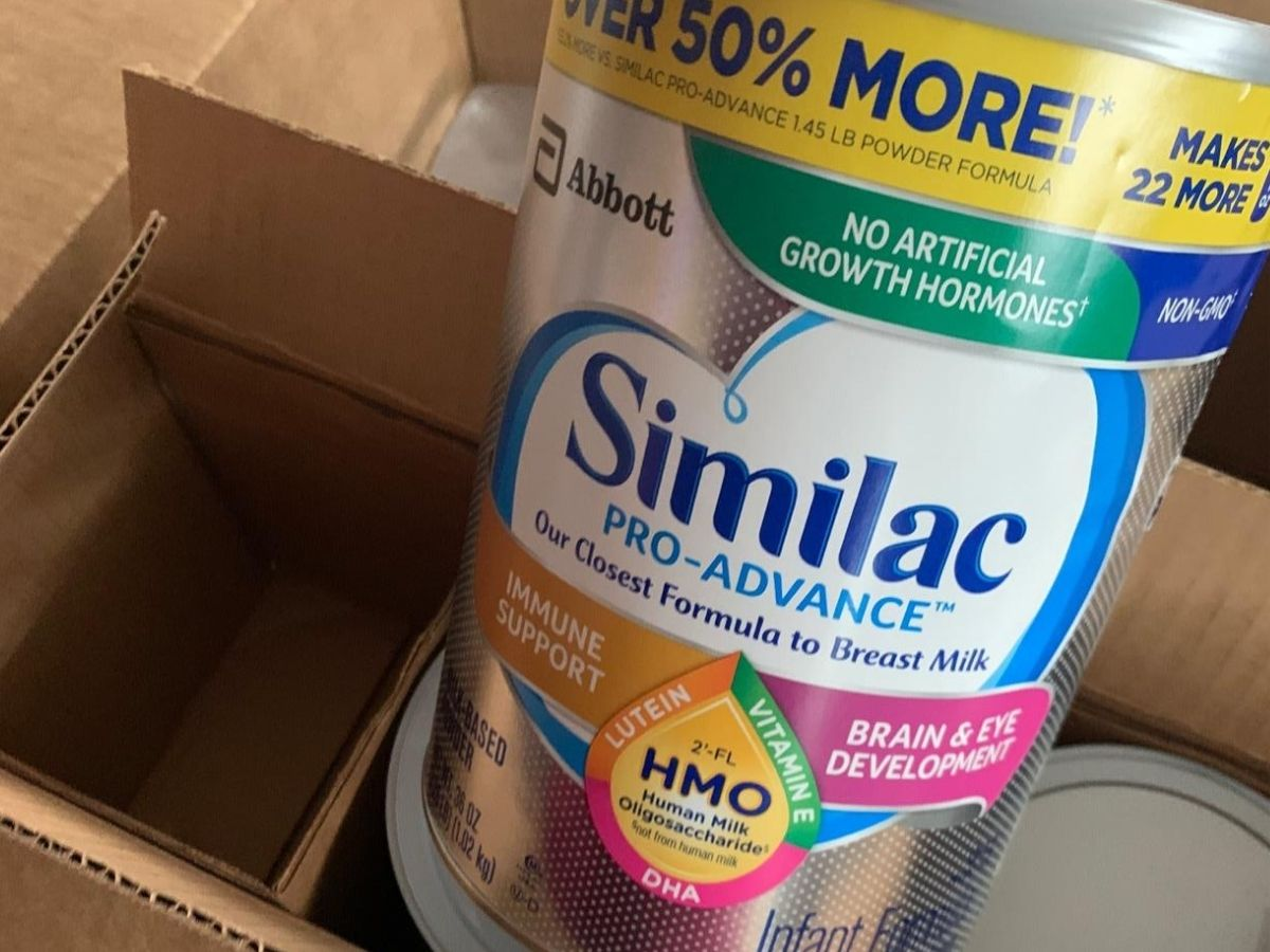 Similac Pro-Advance Infant Formula 36oz Container 3-Pack Just $89.79 Shipped on Amazon (Regularly $126)
