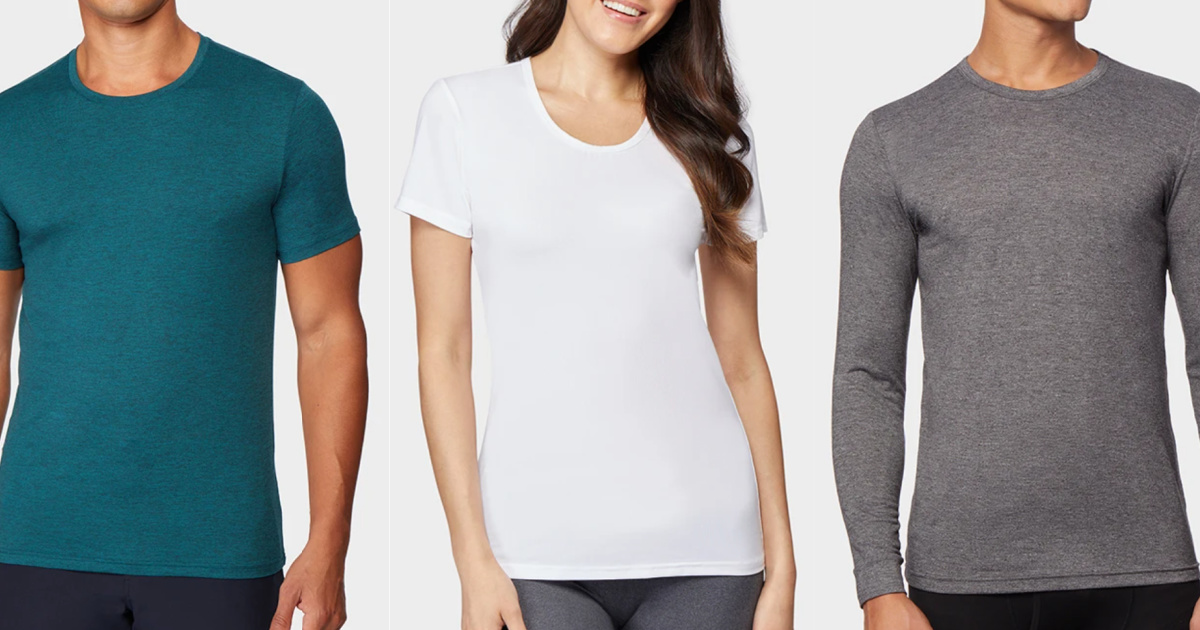 Up to 75% Off 32 Degrees Apparel & Outerwear + Free Shipping