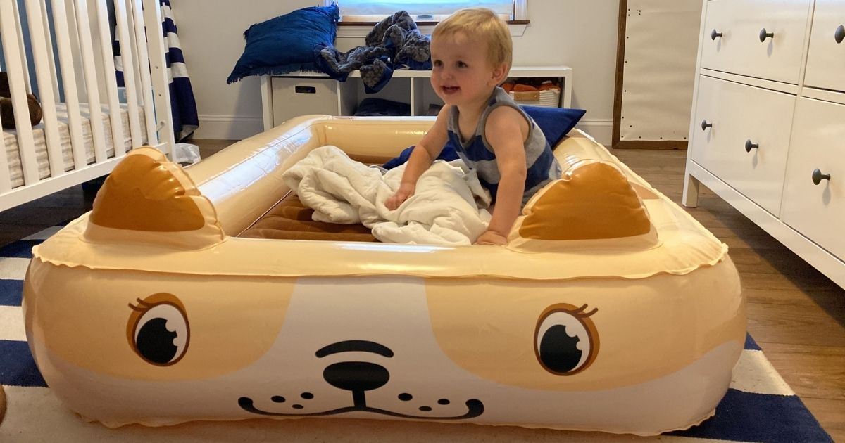 Highly Rated Kids Inflatable Travel Bed Only $35.49 Shipped on Amazon