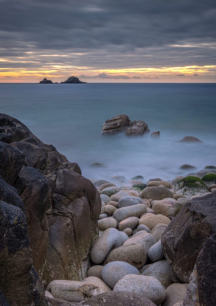 Porth Nanven, St Just, Cornwall, England