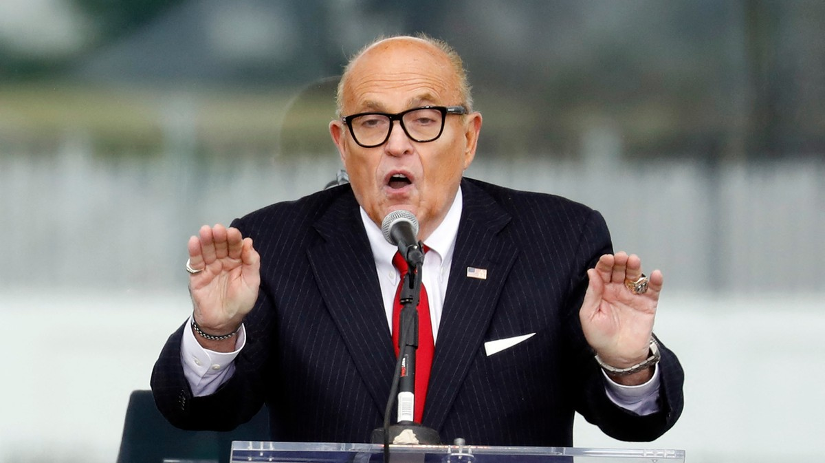 Dominion Voting Systems Is Suing Rudy Giuliani for $1.3 Billion