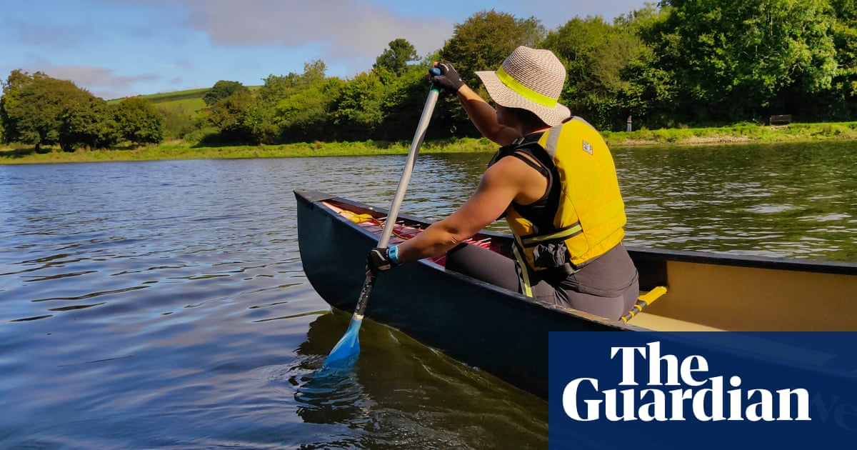 Gently down the stream: a canoeing and mindfulness retreat in Devon