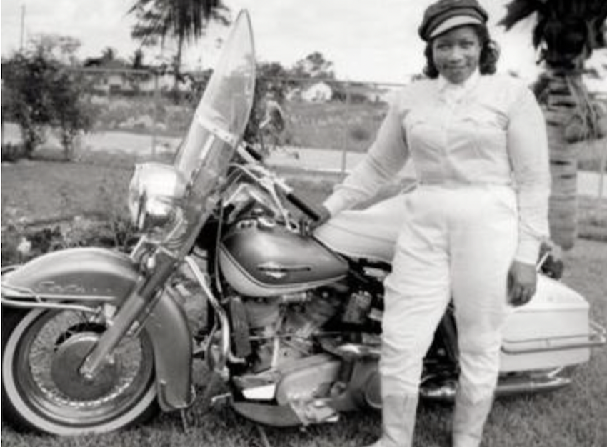 The Motorcycle Queen of Miami Was More than Fast Enough