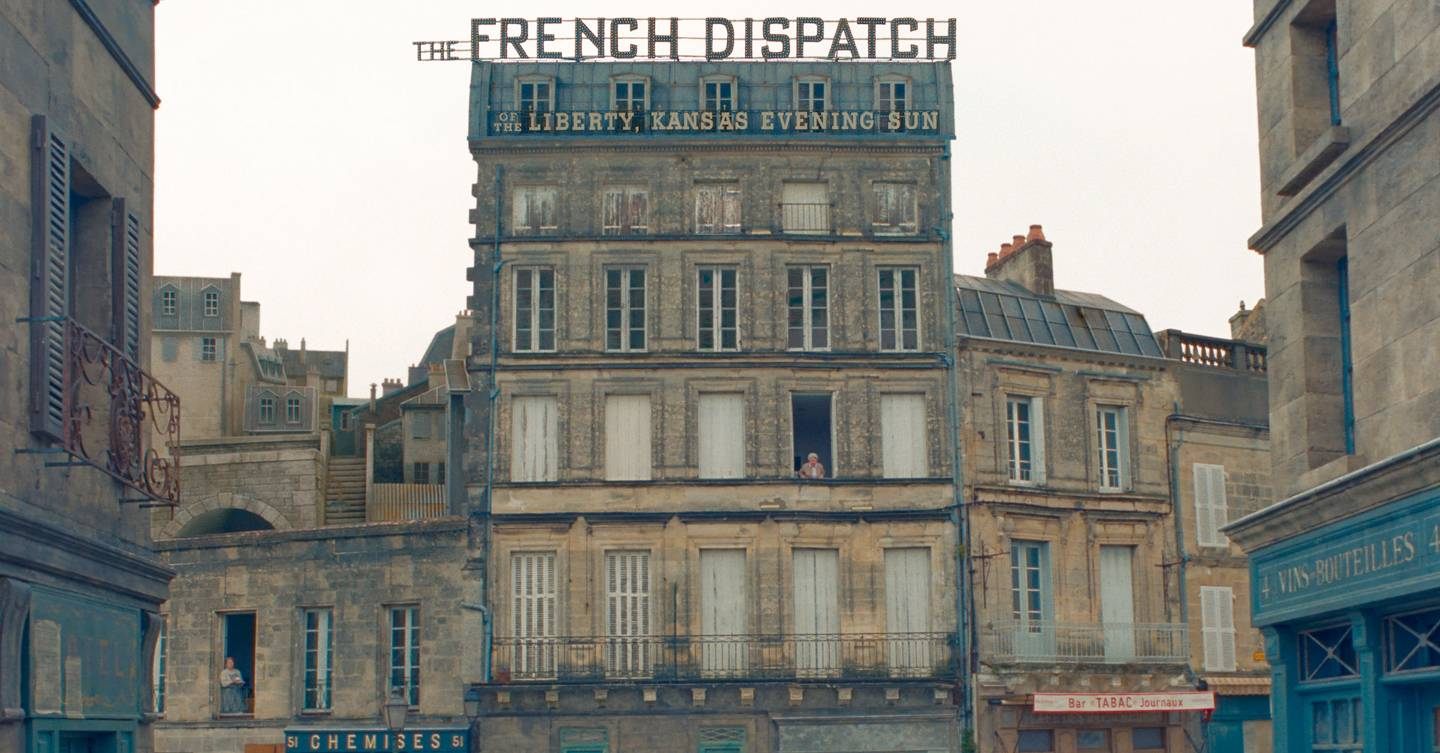 Where was Wes Anderson's 'The French Dispatch' filmed?