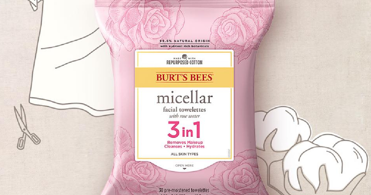 Burt's Bees Facial Towelettes 30-Count Packs from $3.49 Shipped on Amazon
