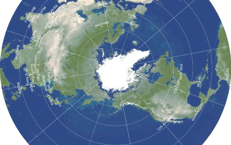 The Most Accurate Flat Map of Earth Yet