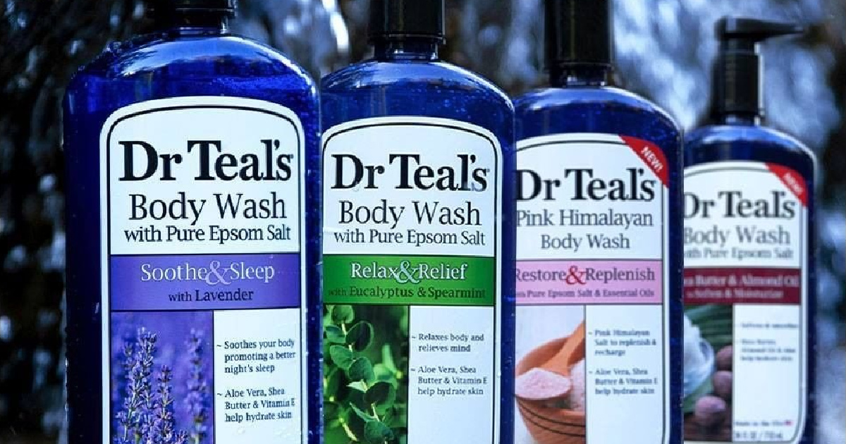 Dr Teal's Ultra Moisturizing Body Wash or Foaming Bath Just $3.67 Shipped on Amazon