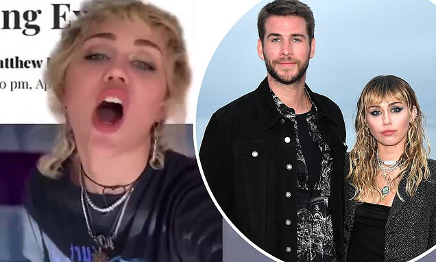 Miley Cyrus mocks her past relationships while singing Kid Laroi in hilarious viral video