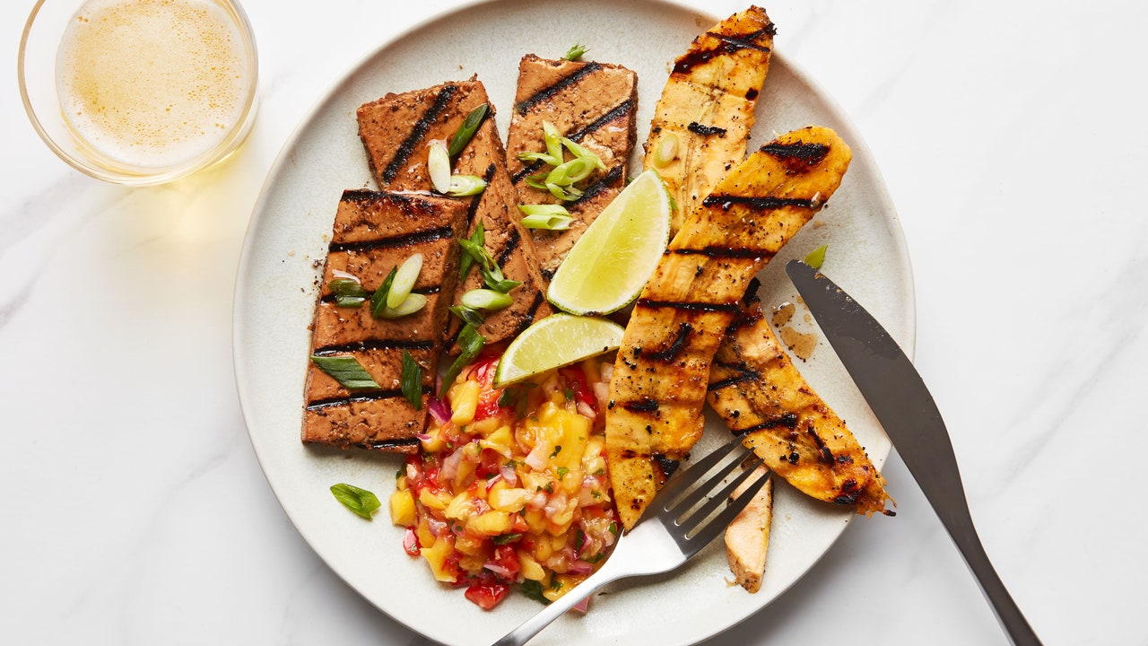 For the Best Jerk Tofu, Freeze, Then Grill