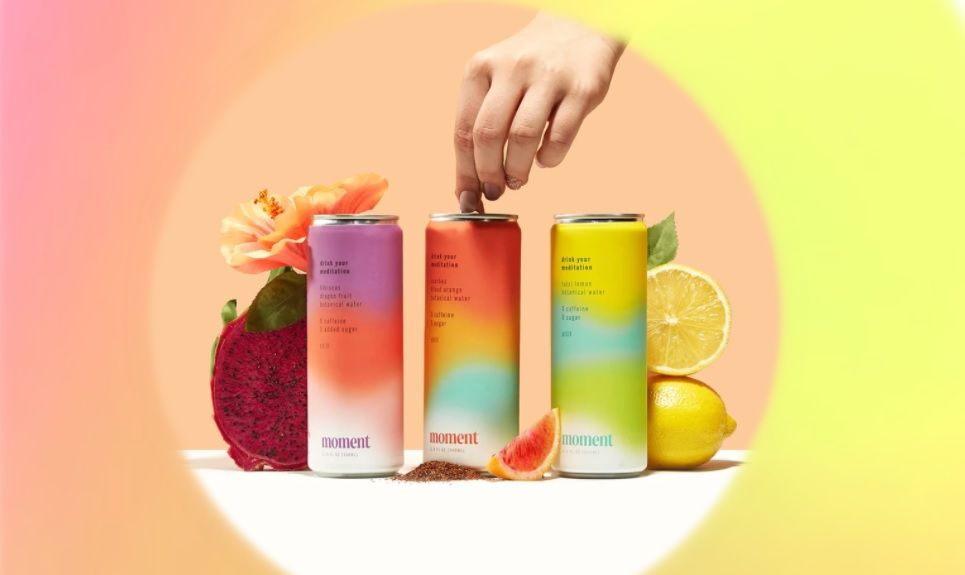 Botanical beverage Moment creates a 'gateway to mindfulness' by offering 'meditation in a can'