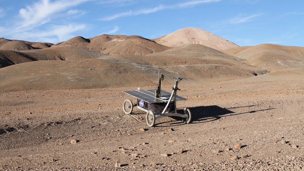 Hunting for Martians in the Most Extreme Desert on Earth