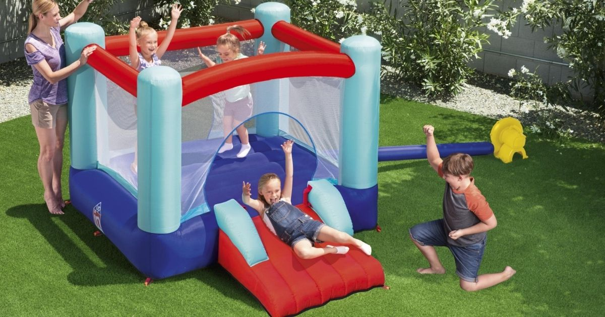 Inflatable Bounce House w/ Slide Only $119.98 Shipped on Walmart.com (Regularly $299)