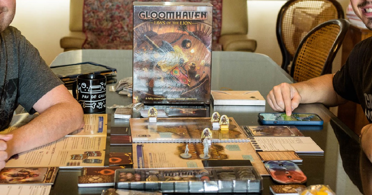 Gloomhaven Jaws of the Lion Board Game Just $29.99 Shipped on Amazon (Regularly $50)